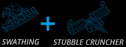 Swathing and Stubble Cruncher Multi Equipment Discount