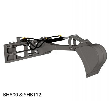 Backhoe Big Arm Skidsteer Attachment