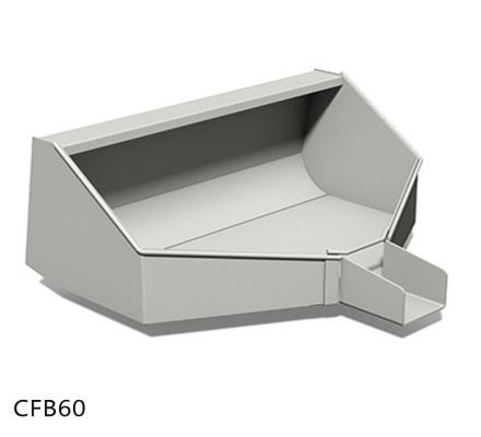 Concrete Funnel Bucket Attachment