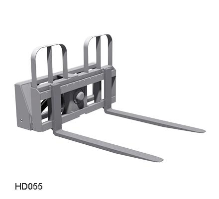 Power Tilting Pallet Fork Attachment