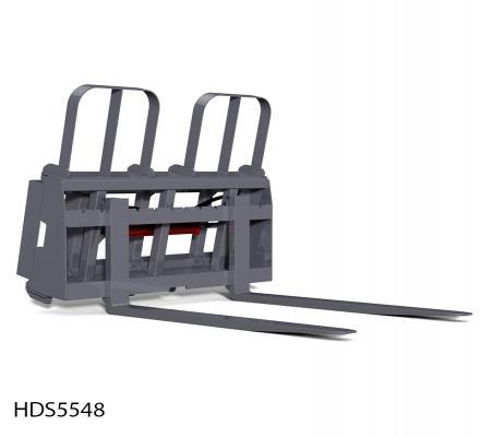 Side Shift Pallet Fork Attachment