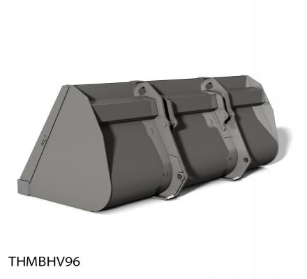 Telescopic Handler Bucket High Volume Attachment